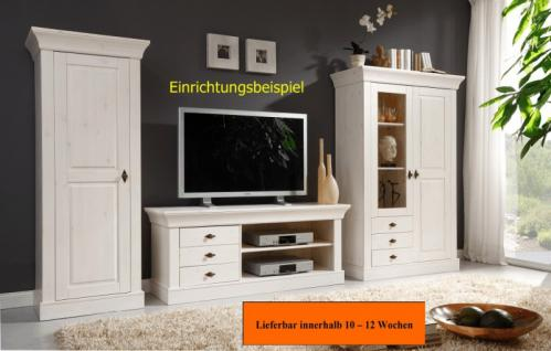 tv kommode lowboard fernsehkommode tv tisch kiefer massiv kaufen bei saku system vertriebs gmbh. Black Bedroom Furniture Sets. Home Design Ideas