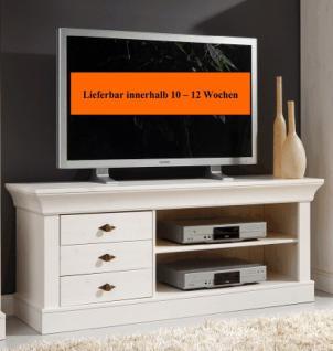 TV-Kommode Lowboard Fernsehkommode TV-Tisch Kiefer massiv