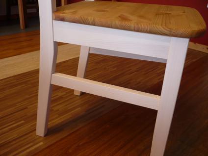 Stuhlset Holzstuhl Küchenstuhl Esszimmer Kiefer massiv - Vorschau 3