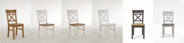 Stuhlset Holzstuhl Küchenstuhl Esszimmer Kiefer massiv - Vorschau 2