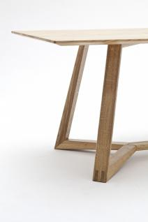 Tisch Esstisch Konferenztisch Esszimmertisch Asteiche massiv geölt Eiche - Vorschau 3