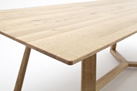 Tisch Esstisch Konferenztisch Esszimmertisch Asteiche massiv geölt Eiche - Vorschau 4