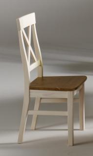 Stuhlset Holzstuhl Küchenstuhl Esszimmer Kiefer massiv - Vorschau 1