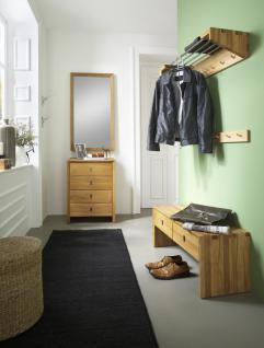 Garderobenset Kompletteinrichtung Diele Garderobe Kernbuche Wildeiche massiv - Vorschau 1
