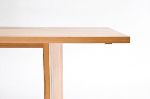 Wangentisch Esstisch Tisch Küchentisch Esszimmertisch Esszimmer Kernbuche geölt - Vorschau 5