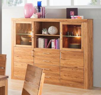 highboard sideboard anrichte wildeiche massiv kaufen bei saku system vertriebs gmbh. Black Bedroom Furniture Sets. Home Design Ideas
