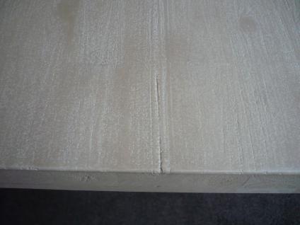 Tisch Esstisch Esszimmertisch 200x100 cm Akazie massiv Roheisen lackiert - Vorschau 2