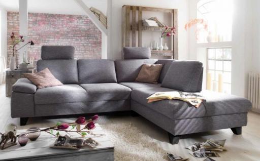 polstercouch sofa couch ecksofa polsterecke funktion grau. Black Bedroom Furniture Sets. Home Design Ideas