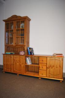 Wohnwand Buffet Sideboard mit Aufsatz TV-Möbel Kiefer massiv provence - Vorschau 2