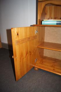 Wohnwand Buffet Sideboard mit Aufsatz TV-Möbel Kiefer massiv provence - Vorschau 3