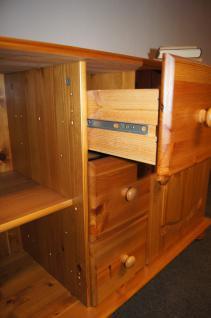 Wohnwand Buffet Sideboard mit Aufsatz TV-Möbel Kiefer massiv provence - Vorschau 4