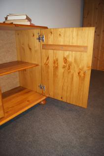 Wohnwand Buffet Sideboard mit Aufsatz TV-Möbel Kiefer massiv provence - Vorschau 5