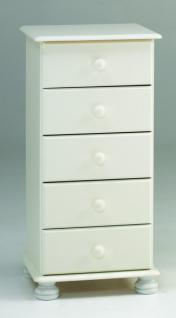 Schubladenkommode Schubkastenkommode Kommode Kiefer MDF - Vorschau 3