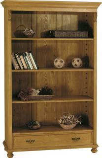 Bücherregal Bücherschrank Standregal Wohnzimmer Fichte massiv Landhaus - Vorschau 1
