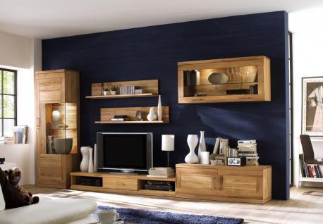 H ngeschrank wandschrank wandkonsole wohnzimmer kernbuche ge lt massiv kaufen bei saku system - Wandschrank wohnzimmer ...