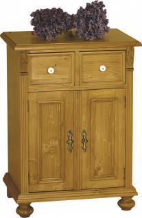 Nachtkommode Nachttisch Nachtschrank Fichte massiv Landhaus vintage antik 1880 - Vorschau 1