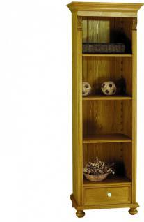Bücherregal Bücherschrank Hochschrank Regal Fichte massiv Landhaus romantik - Vorschau 1