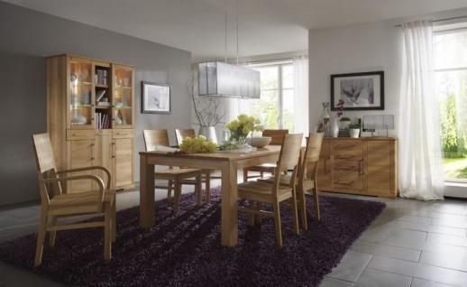 esszimmer tische kernbuche online kaufen bei yatego. Black Bedroom Furniture Sets. Home Design Ideas