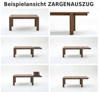 Esstisch Tisch Esszimmertisch Zargenauszug Auszug Esszimmer Nussbaum geölt - Vorschau 3