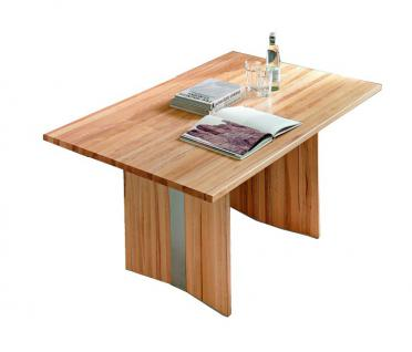 Wangentisch Esstisch Tisch Küchentisch Esszimmertisch Esszimmer Kernbuche geölt - Vorschau 1