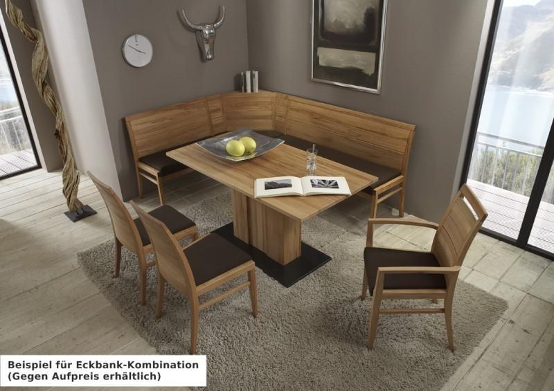 Perfect Bank Sitzbank Rckenlehne Esszimmer Kche Kernbuche Massiv Gelt Bank  Und Stuhl Modern With Stuhl Wildeiche Massiv Gelt.