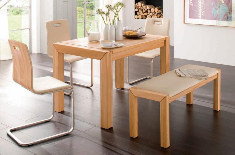 essgruppe essbankgruppe k che bank st hle tisch kernbuche. Black Bedroom Furniture Sets. Home Design Ideas