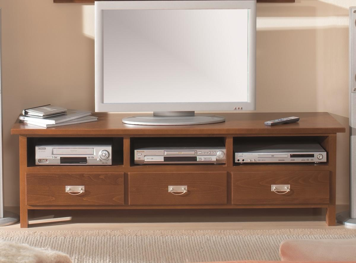 lowboard tv board tv tisch konsole buche massiv lackiert. Black Bedroom Furniture Sets. Home Design Ideas