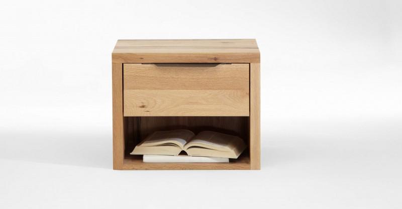 nachttisch nachtkommode mit schublade balkeneiche eiche massiv ge lt rustikal kaufen bei saku. Black Bedroom Furniture Sets. Home Design Ideas
