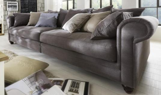 Sofa 4-sitzig Couch Textilsofa Polstersofa romantik Wohnzimmer - Vorschau