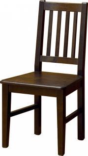 Stühle Stuhl-Set Küchenstuhl Esszimmerstuhl Fichte massiv Antikweiß shabby - Vorschau 3