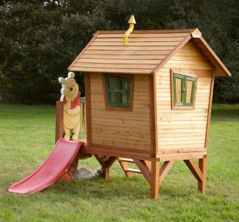 Spielhaus Holzspielhaus Spielhütte Winnie the Pooh Garten Kinder Holzspielhütte - Vorschau 4