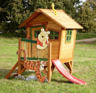 Spielhaus Holzspielhaus Spielhütte Winnie the Pooh Garten Kinder Holzspielhütte - Vorschau 2