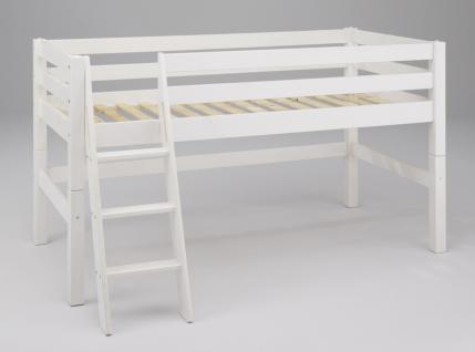 jugendbett wei massiv online bestellen bei yatego. Black Bedroom Furniture Sets. Home Design Ideas