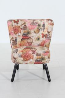 Stuhlsessel Sessel Stuhl Retro Retrostil rost Motiv Vintage Nostalgie - Vorschau 1