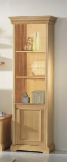 Bücherregal Bücherschrank Schrank Regal Wohnzimmer Fichte massiv honig gewachst - Vorschau 1