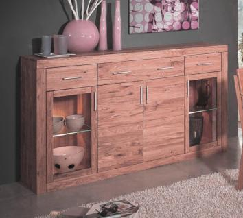 sideboard anrichte kommode wildeiche massiv kaufen bei. Black Bedroom Furniture Sets. Home Design Ideas