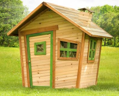 Spielhaus Hexenhaus Holzspielhütte Spielhütte Wunderland Holz TÜV geprüft - Vorschau 1