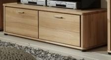 TV-Board Lowboard TV-Anrichte Rotkernbuche massiv bio livos geölt 2 Schubladen