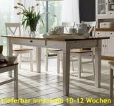 Esstisch Esszimmertisch Tisch 180x90 cm Landhausstil Kiefer massiv