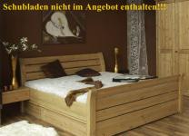Einzelbett Doppelbett Gästebett Jugendbett Kiefer massiv geölt lackiert