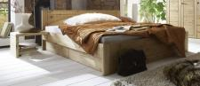 Bett Einzelbett Doppelbett Schubladen Kiefer massiv