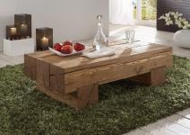 Couchtisch Beistelltisch Wohnzimmertisch Tisch Kiefer/Fichte massiv gewachst