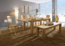 Tisch Tischgruppe Esstisch Stühle Sitzbank Kiefer massiv