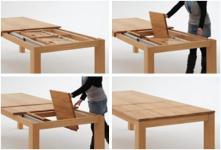 Esstisch Tisch Esstischsystem Kernbuche geölt massiv Sondermaße ausziehbar