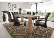 Tisch Esstisch System-Esstisch Auszug Granitplatte Kernbuche massiv