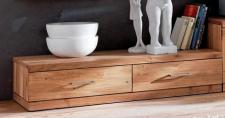 Lowboard TV-Board TV-Anrichte TV-Lowboard TV-Möbel Wildeiche massiv geölt
