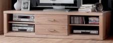 TV-Board TV-Anrichte TV-Konsole Lowboard TV-Möbel Wildeiche weiß patiniert
