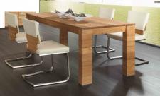 Essgruppe Tischgruppe Esszimmer Tisch Stühle Asteiche Eiche massiv geölt natur