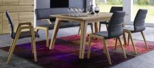 Esszimmergruppe Essbankgruppe Tischgruppe Bank Stühle Esstisch Asteiche massiv