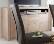 Sideboard Mediaschrank TV-Schrank Wildeiche massiv Bianco geölt made in germany